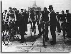 Så kom idrotten till Malmö - Cykel