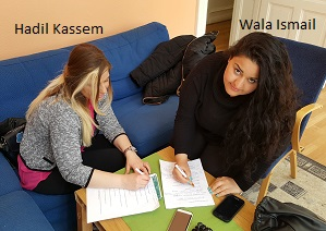 Hadil och Wala